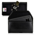 Galaxy S8 Leather Holster Case Metal Belt Clip Otterbox Defender