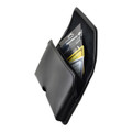 6.60 x 3.25 x 0.62 in - Smartphone Credit Card Pocket Case Holster Metal Clip (iPh 6+, 7+, 8+,  Galaxy S9+ S8+)
