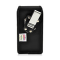 iPhone 6S Leather Vertical Holster Metal Belt Clip Case Fits Otterbox Commuter