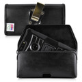 ZTE Blade Z Max Holster Metal Clip Case Pouch Leather Turtleback