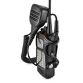 TPD-1000 Radio Belt Clip Holder for TecNet Maxon Two 2 Way Radios Walkie Talkie Black Leather Fits in Charger