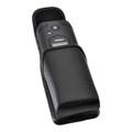 DuraXV LTE E4610 Verizon Leather Pouch Case Rotating Black Belt Clip Magnet