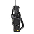 Motorola XTS5000 2 Way Radio Belt Clip Holder fits in Charger Black Leather