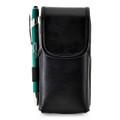 Turtleback Sonim XP5s Leather Vertical Phone Holster Pouch Case, Metal Belt Clip