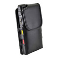 Turtleback Sonim XP8 Leather Vertical Phone Holster Pouch Case, Metal Belt Clip