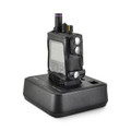 Unication G4 G5 Voice Pager Fire Pager Radio Phone Black Leather Case Metal Ratcheting Removable Belt Clip