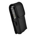 Sonim XP5s Holster Pouch, Vertical Nylon Case with Rotating Belt Clip & Magnetic Closure