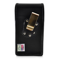 Galaxy S10+ Leather Vertical Holster Case Metal Belt Clip