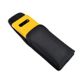 Galaxy S10+ Plus Fits with OTTERBOX SYMMETRY Vertical Holster Black Nylon Pouch Rotating Belt Clip