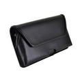 Samsung Galaxy Note 10+ Plus Belt Holster Black Leather Pouch with Heavy Duty Rotating Belt Clip, Horizontal