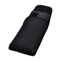 Galaxy S20+ S21+ Plus Vertical Holster Black Nylon Pouch Rotating Belt Clip