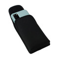 Galaxy S20 S21 w/Otterbox Commuter Vertical Holster Black Nylon Pouch Rotating Belt Clip