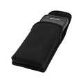 Motorola Lex L11 Vertical Holster Black Nylon Pouch with Heavy Duty Rotating Belt Clip
