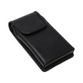 Samsung Galaxy Note 20 Vertical Leather Cell Phone Holster for Otterbox DEFENDER Case Flush Leather Covered Belt Clip Pouch - Turtleback