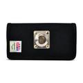 iPhone 12 Mini  Belt Clip Horizontal Holster Case Black Nylon Pouch Heavy Duty Rotating Clip