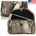 6.87 X 3.75 X 0.75in - Camouflage 3XL Nylon Horizontal Holster, Metal Belt Clip