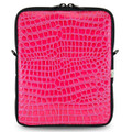 Laptop Case in Hot Pink Color - Multiple Sizes, Padded, Water Resistant- Made in USA
