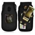 Alcatel ONETOUCH Retro Nylon Fitted Phone Case, Rotating Metal Belt Clip