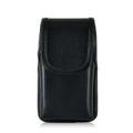 LG 450 Vertical Leather Holster, Metal Belt Clip
