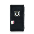 Droid Turbo 2 Vertical Leather Holster Clip Fits Bulk Cases