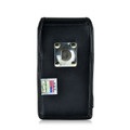 Galaxy S6 Edge Plus Vertical Leather Holster Metal Belt Clip