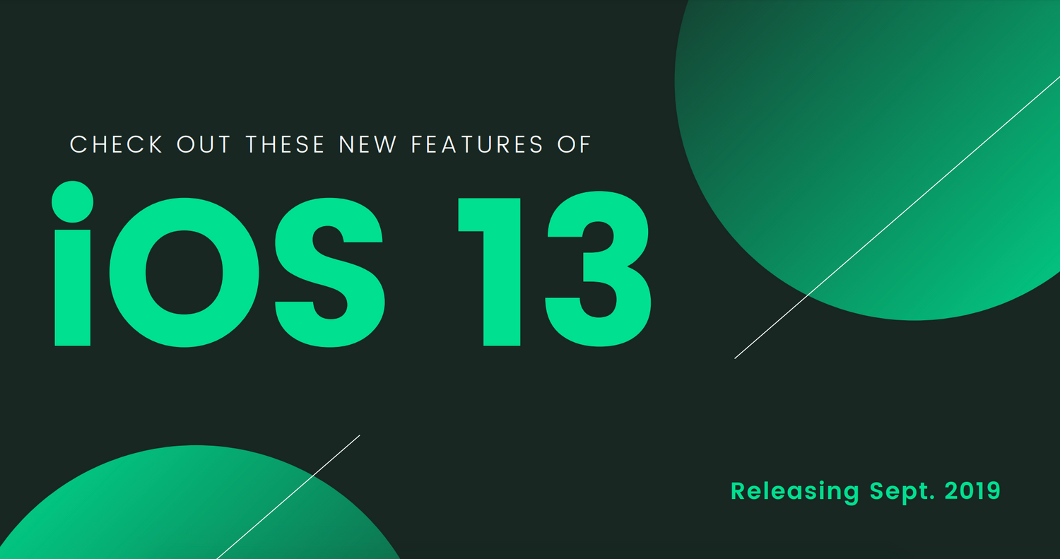 Check Out These New Features of iOS 13