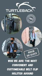 Who We Are: The Most Convenient and Customizable Belt Clip Holster Around