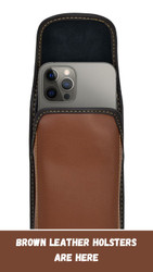Add a Brown Leather Customization to Any Leather Holster