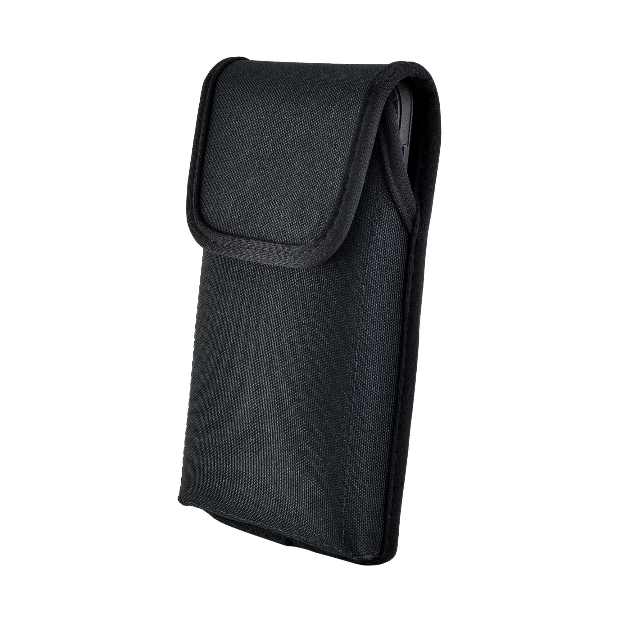 Black Nylon Pouch with Heavy Duty Rotating Belt Clip Made in USA Turtleback Vertical Galaxy S10 Holster Galaxy S10 Belt Clip Case