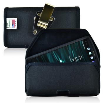 LG V10 Nylon Holster Case Metal Belt Clip
