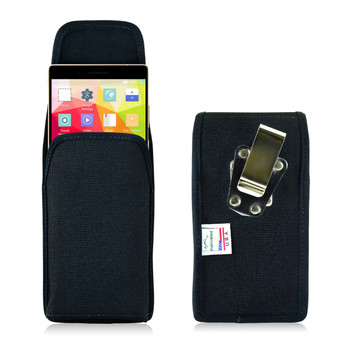 Blu Pure XL Vertical Nylon Holster Case Metal Belt Clip
