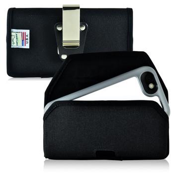 Mophie Juice Pack H2PRO iPhone 6S Belt Case H2PRO iPhone 6S Belt Clip Case, Black Nylon Pouch with Heavy Duty Metal Rotating Belt Clip, Horizontal - Magnetic Flap Closure