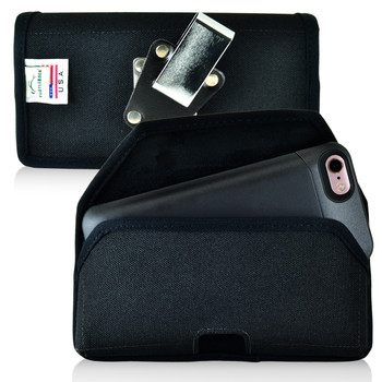 PhoneSuit Elite 6 Holster Metal Belt Clip Case Pouch Nylon Turtleback