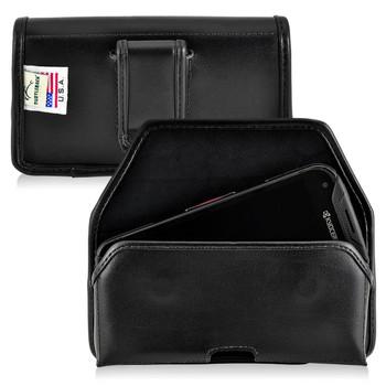 Kyocera DuraForce PRO Holster Black Belt Clip Case Pouch Leather