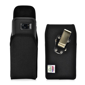 S7 Edge Nylon Vertical Holster Metal Clip Fits Otterbox Defender