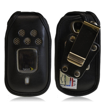 Kyocera DuraPro E4277Heavy Duty Leather Case