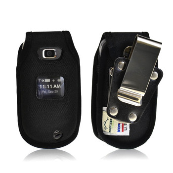 LG Revere 2 Heavy Duty Nylon Phone Case with Rotating Metal Belt Clip