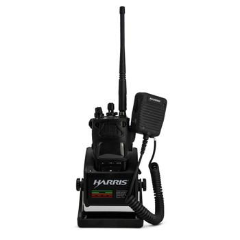 L3Harris XL-200P ATT Global LTE FirstNet Duty Belt Clip Black Leather Fits STANDARD AND EXTENDED BATTlERY