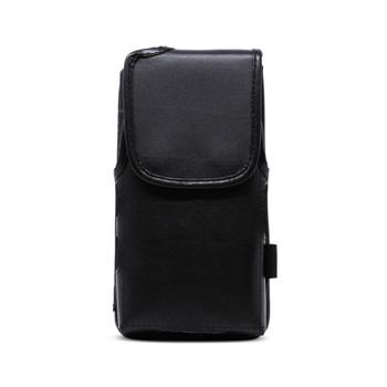 Turtleback JVC Kenwood KWSA80K Leather Vertical Phone Holster Pouch Case, Metal Belt Clip