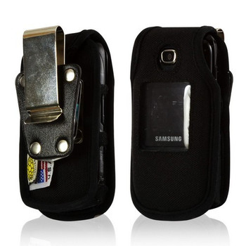 Samsung C414 Heavy Duty Nylon Phone Case with Rotating Metal Belt Clip