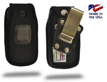 Leather Samsung T159  Rugged Belt Clip Holster Case