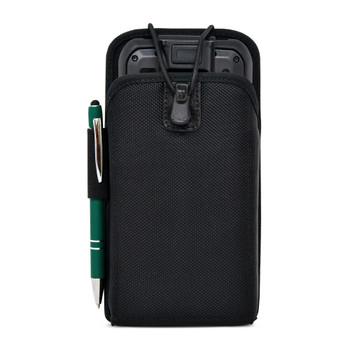 Sonim RS60 Touch Mobile Computer Nylon Holster, 2 Belt Clips Scanner Holder