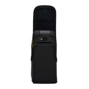 Sonim XP3plus Holster Belt Clip Vertical Holder Black Leather Heavy Duty Clip