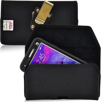 Note 4 Extended Horizontal Nylon Rotating Clip Holster