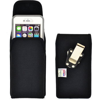 iPhone 6 Plus/6S Plus Extended  Vertical Nylon Rotating Clip Holster