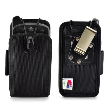 "Zebra Motorola MC67 Mobile Computer Case, 2 Belt Clips, Metal Clip & Belt Loop Fits 6 1/4""X 3 1/8""X 1 3/8"""