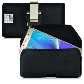 Samsung Galaxy Note 5 Nylon Holster, Metal Belt Clip