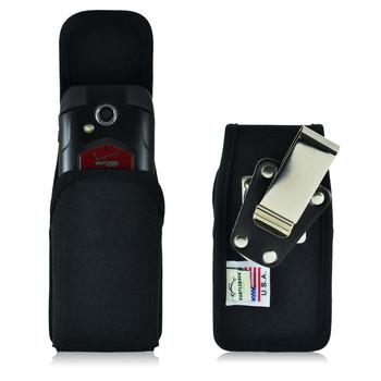 Kyocera DuraXV, DuraXA E4510 Vertical Nylon Holster, Metal Belt Clip