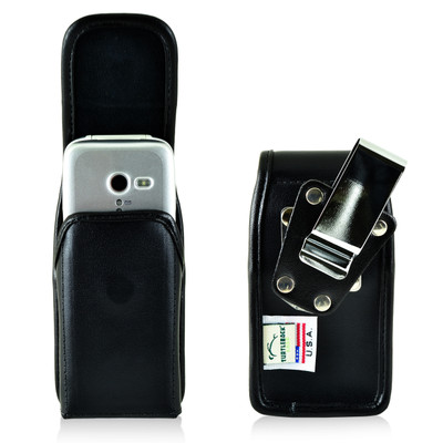 Doro PhoneEasy 626 Holster Metal belt Clip Case Pouch Leather