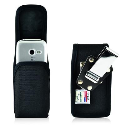 3.6 X 1.75 X 1 in -  Holster Metal Belt Clip Case Pouch Nylon
